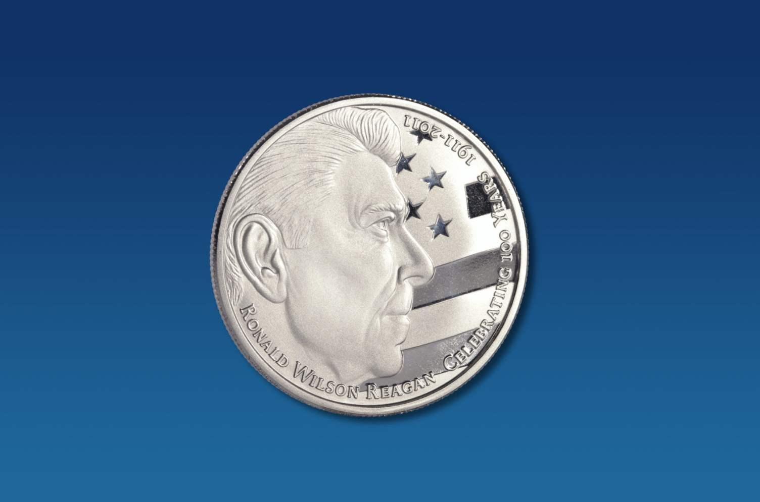 Ronald Reagan Coin