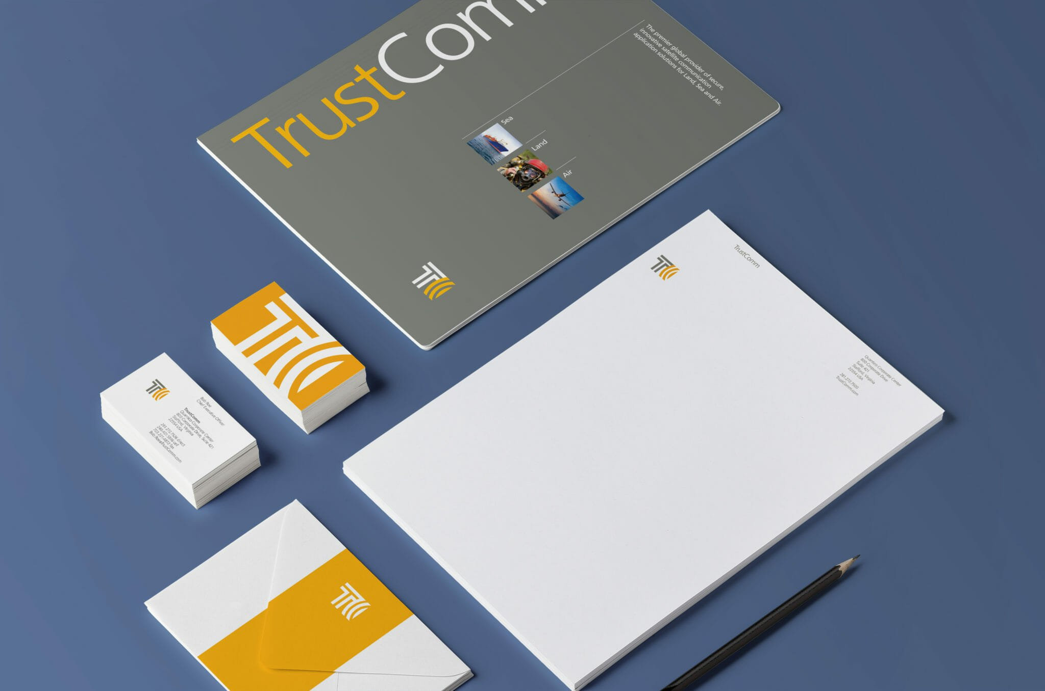 TrustComm Stationery