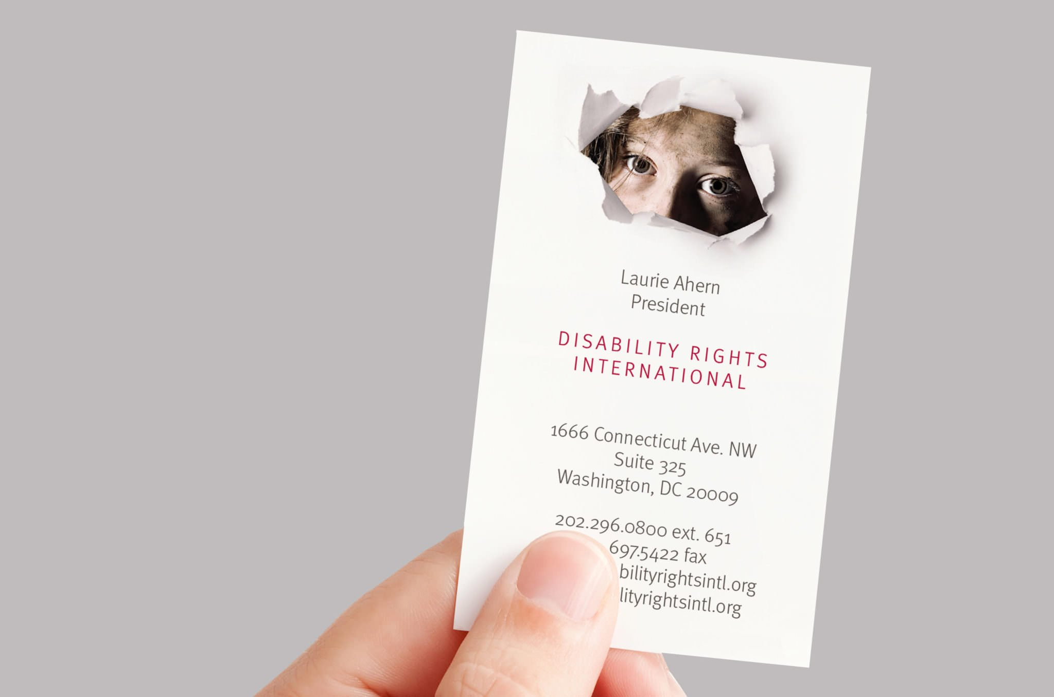 Disability Rights International Business Card
