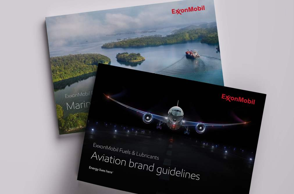 ExxonMobil Aviation and Marine Brand Guidelines