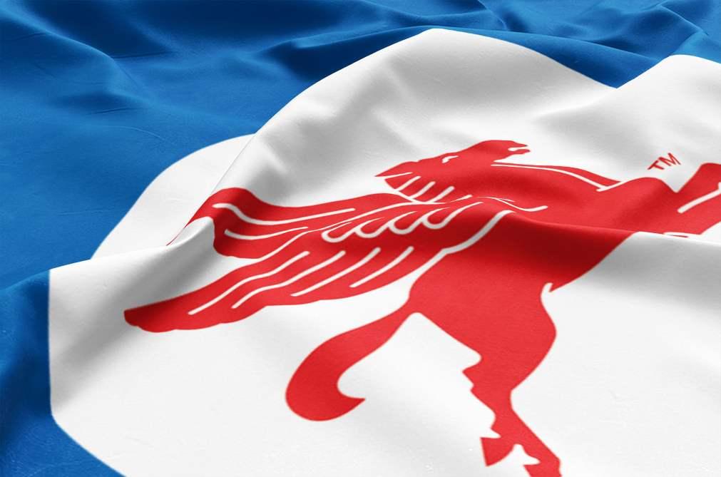Mobil Pegasus Flag