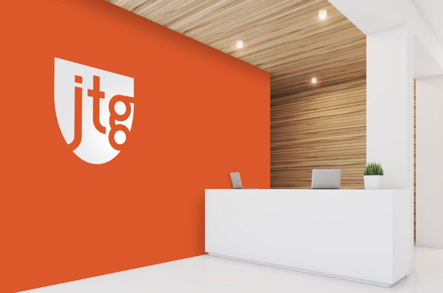 JTG, inc. office lobby
