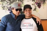 Peter Shinkoda and Gherald Alaman. Photo by Lia Chang