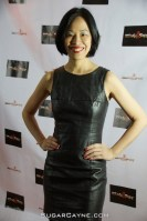 Lia Chang at The Urban Action Showcase & Expo's premiere screening of Owen Ratliff's BLACK SALT at HBO in New York on April 27, 2016. Al Cayne/SugarCayne.com