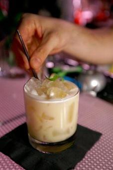 tahini surprise - gran sierpe pisco cocktail