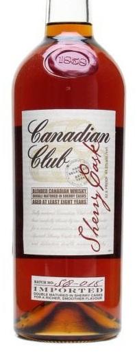 canadian club sherry cask