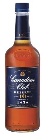 canadian club reserve 10 year whisky