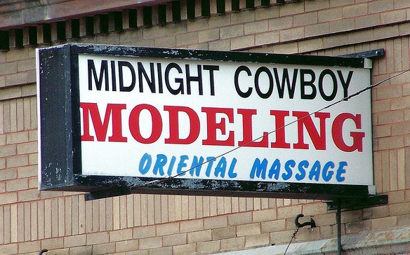 midnight cowboy modeling