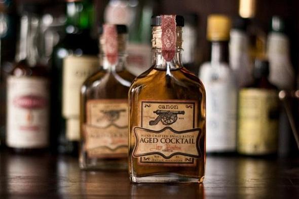 bottled carbonated cocktails
