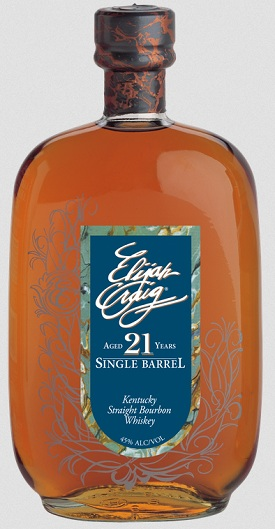 elijah craig 21 year bourbon
