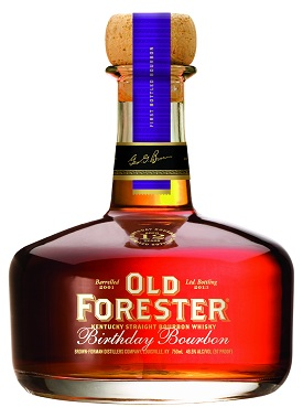 old forester 2013 birthday bourbon