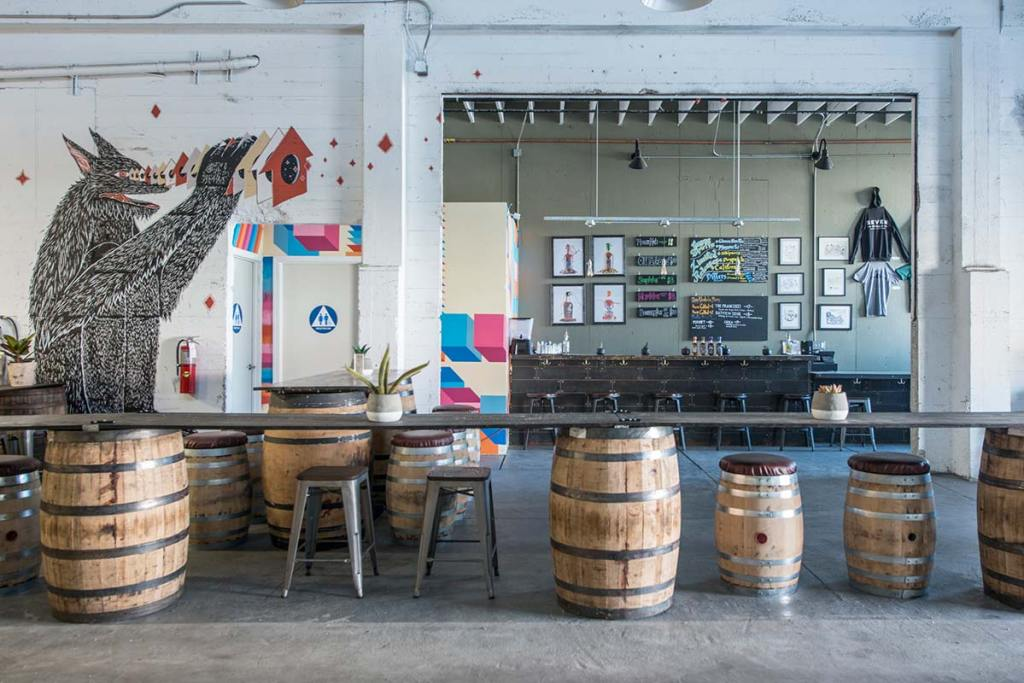 seven stills taproom