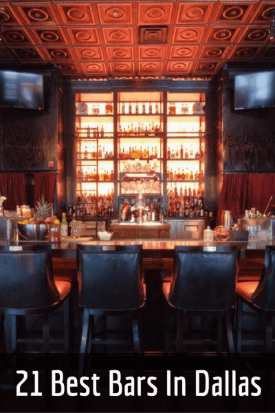 It's no secret that folks in Texas like to drink, and these days the best bars in Dallas are among some of the most impressive in the country.