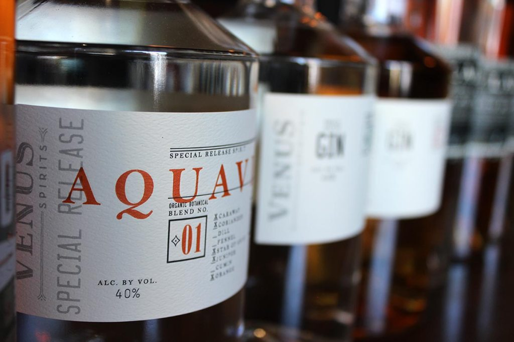 venus spirits aquavit