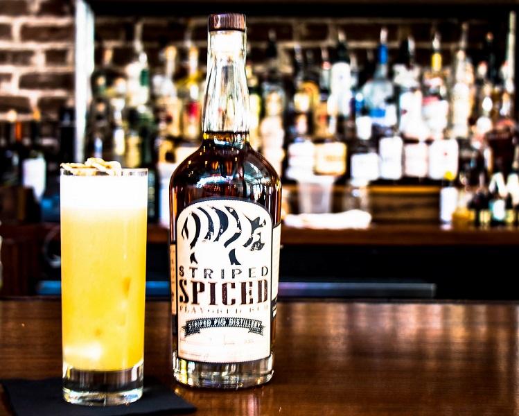 spiced banshee cocktail