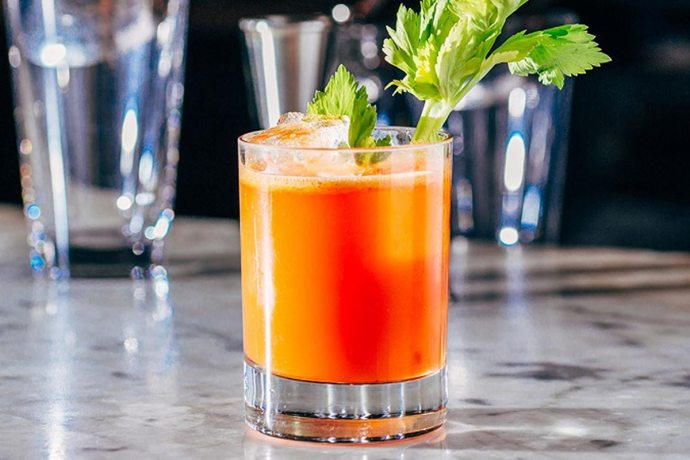 healthy drinking cocktail