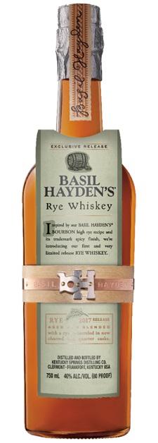 basil hayden's rye