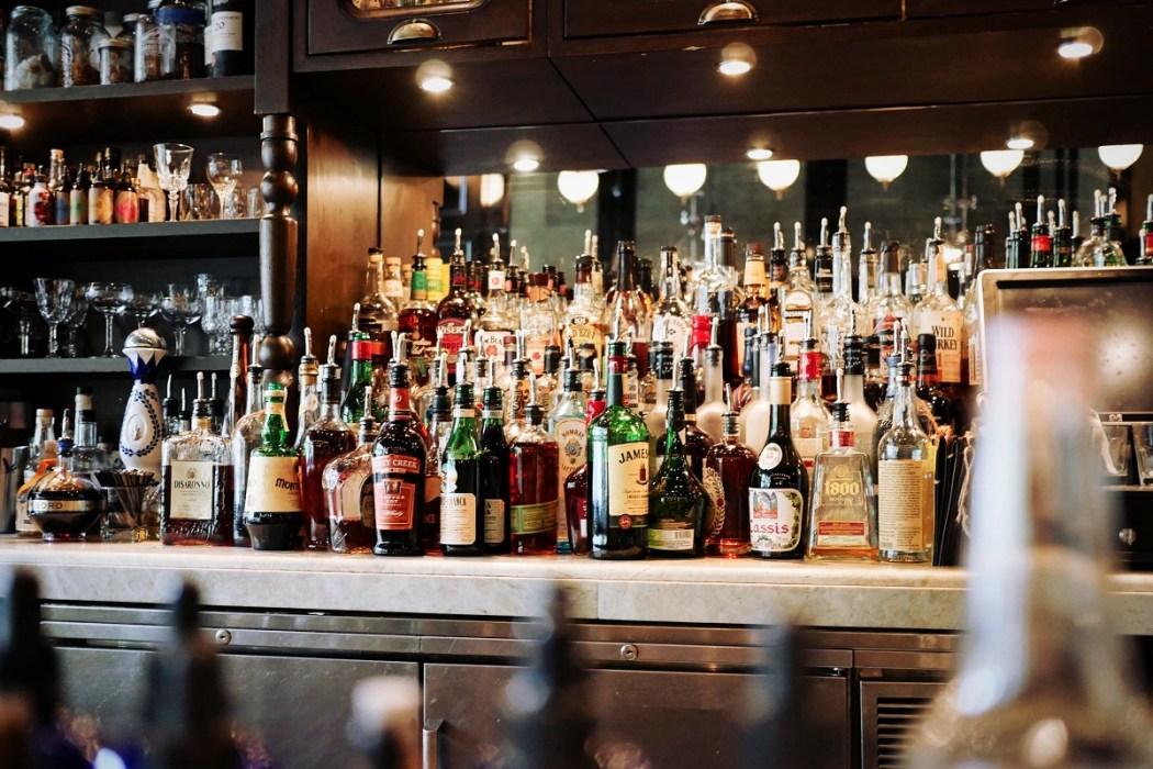 bar bottles