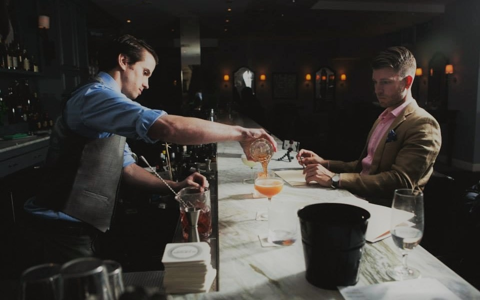 bartender kevin morrison, eastern standard