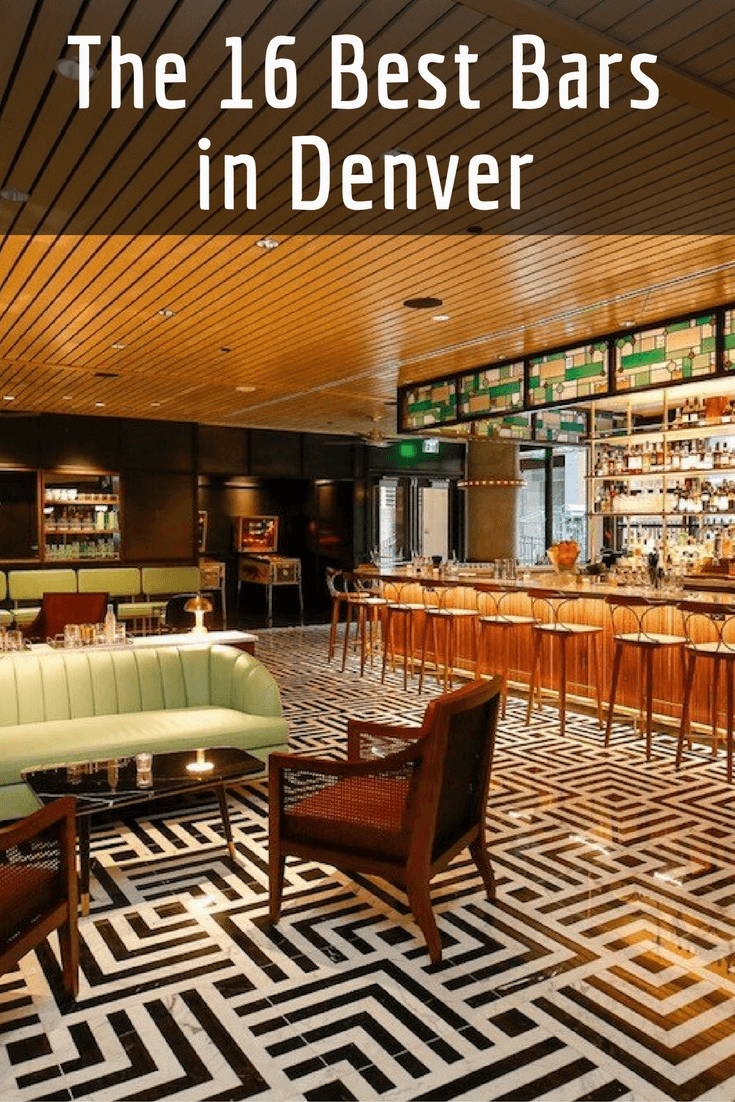 Need A Drink In Denver? You Canu0027t Go Wrong With These Cocktail Bars