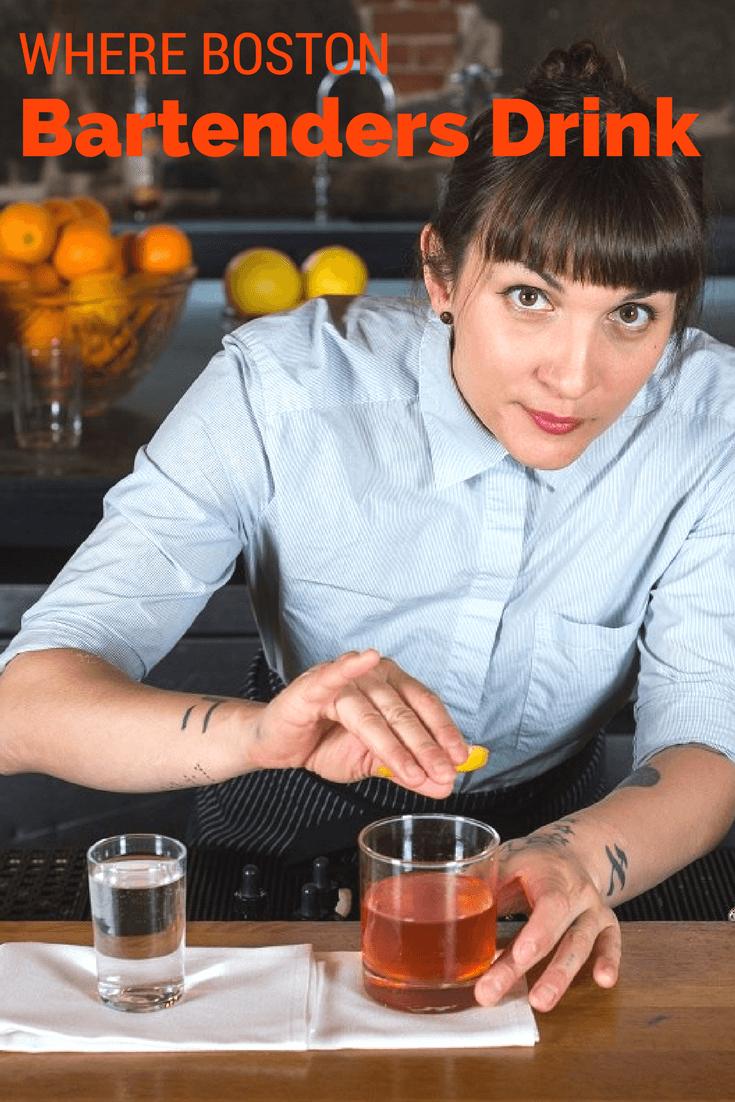 Where Boston Bartenders Drink