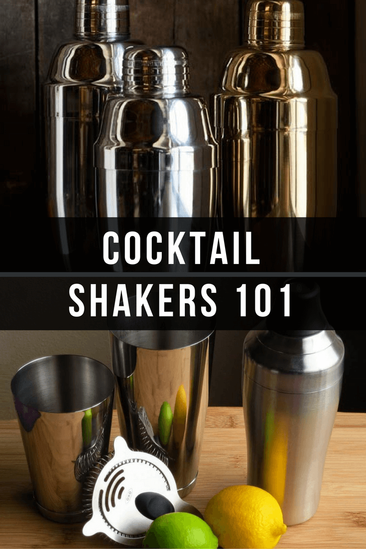 Cocktail Shakers 101 - find out everything you need to know about cocktail shakers! | Bevvy
