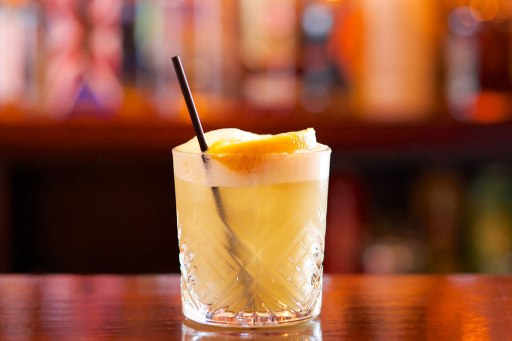 A Whiskey Sour for National Whiskey Sour Day