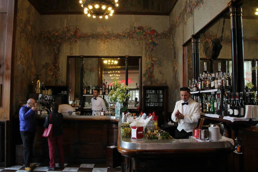 Camparino Bar, Milan   Bevvy