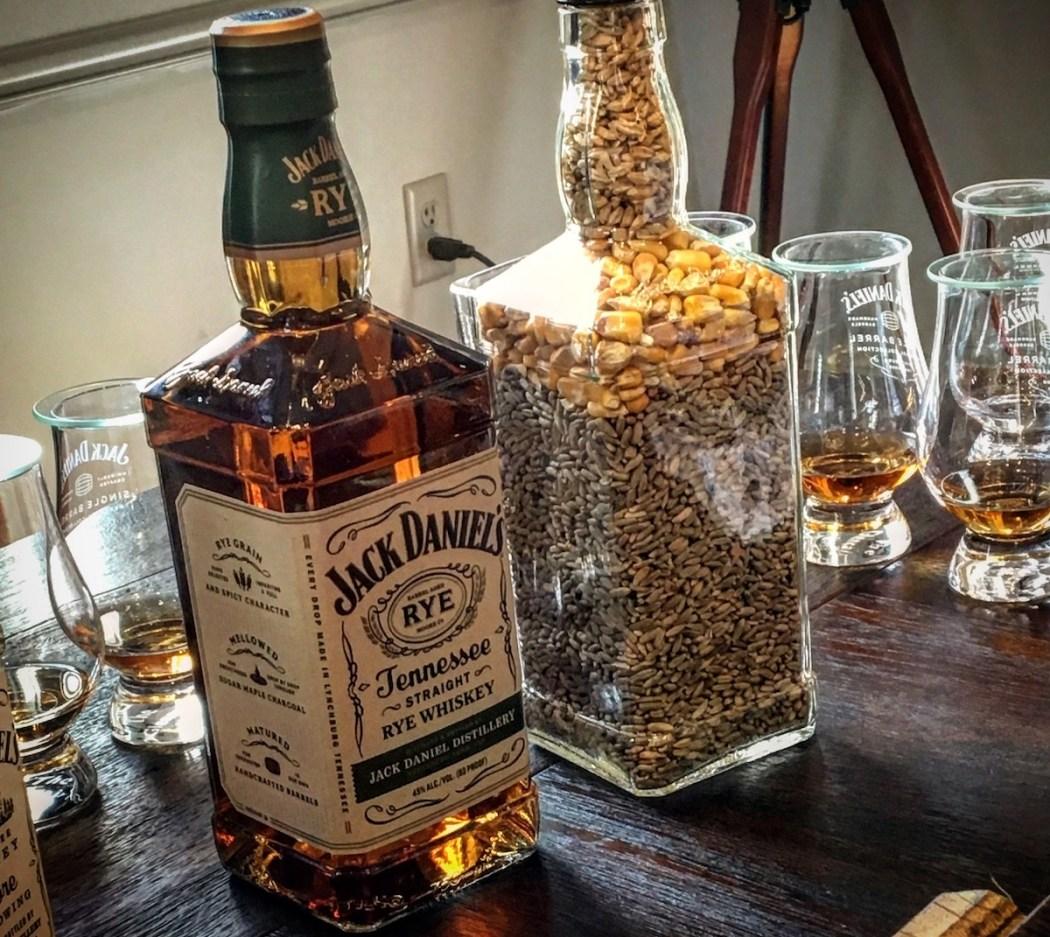 jack daniel's tennessee rye whiskey