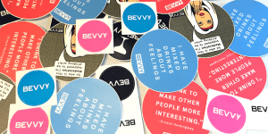 Bevvy Stickers
