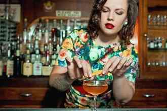 Denver Bartender Annemarie Sagoi