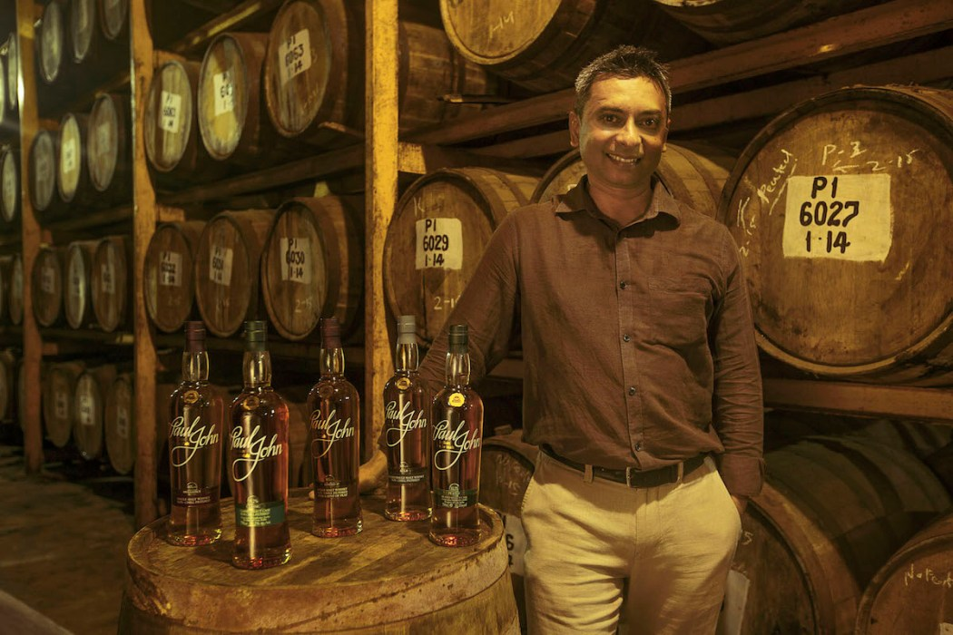 Paul John Master Distiller Michael D'Souza