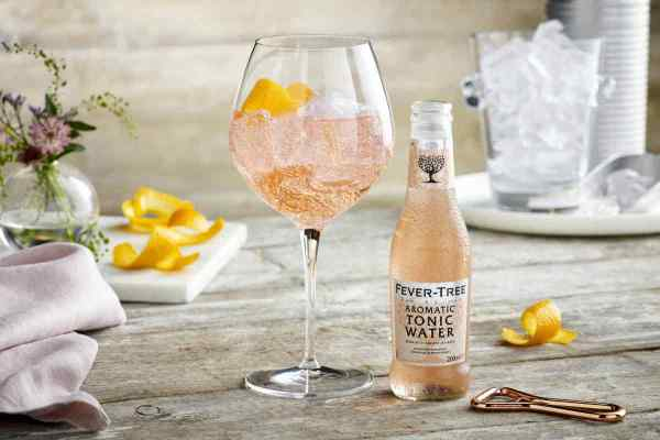 Fever-Tree Launches Aromatic Tonic for Pink, Summertime G&Ts