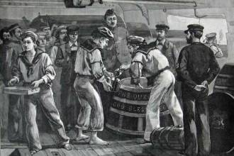 what is navy rum?
