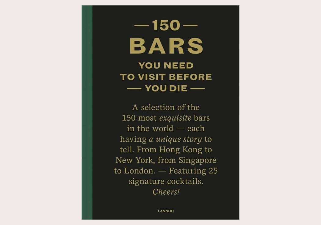 150 Bars to Visit Before You Die