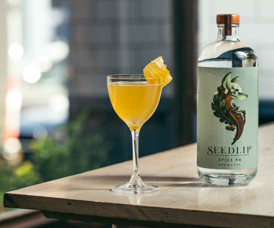 Seedlip Fat Radish Cocktail