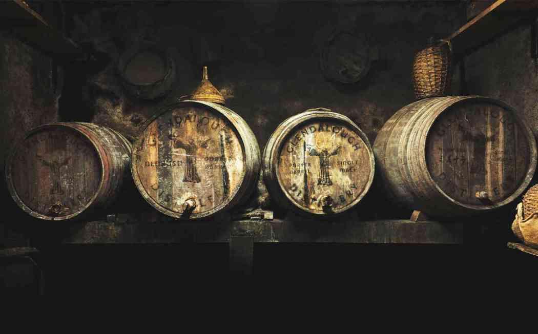 glendalough whiskey barrels