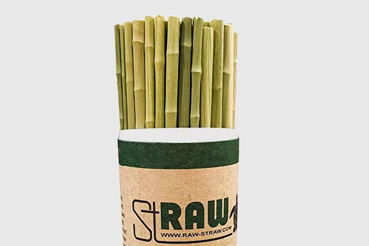 RawStraw Grass Straws