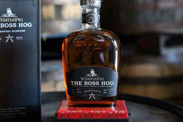"WhistlePig The Boss Hog 6: ""Samurai Scientist"" Rye Whiskey Review"