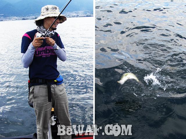 biwako bass fishing guide gekiyasu rental 35