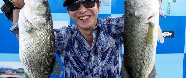 琵琶湖バスフィッシングガイドリポート ~舟木様~ 43cm 20