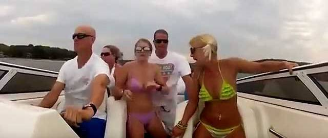 レジャーボート事故 ~波にぶつかり乗員転倒~ 1