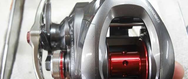 シマノ クロナークCI4+ メンテナンス写真