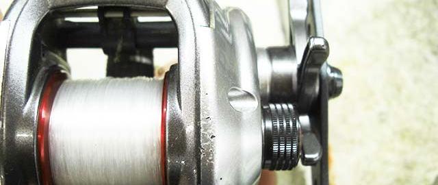 シマノ 11 スコーピオンDC メンテナンス写真