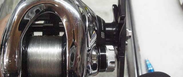 シマノ 12 アンタレス修理業者 写真