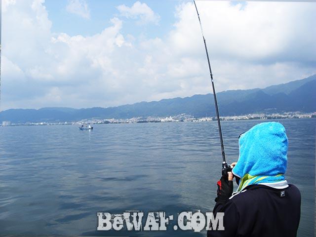 琵琶湖 人工島 デカバス釣果写真