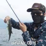 琵琶湖バスフィッシングガイドリポート ~舟木様~ 25cm
