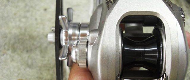 ダイワ TD-Z 103ML オーバーホール修理メンテナンス ネジ舐め分解写真