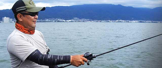 琵琶湖パンチング エリア場所リグ 写真