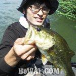 琵琶湖バスフィッシングガイドリポート~永畑様~ 33cm